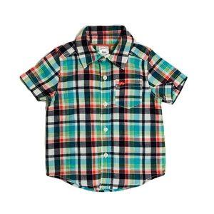 NWOT Carter's Short Sleeve Polo T-shirt Top 9mo